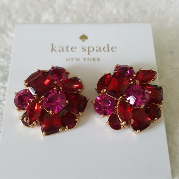 dbb39fbe6bafd New kate spade Shine On Cluster Stud Earrings